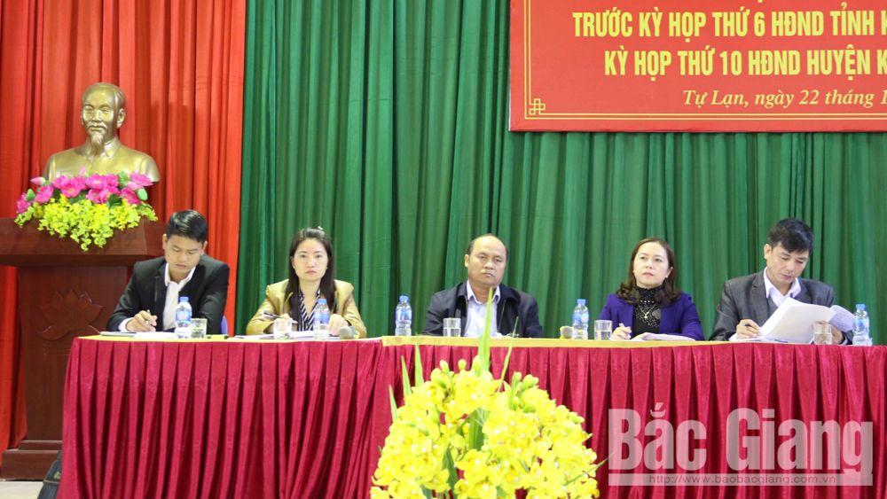 Chủ tịch UBND tỉnh Nguyễn Văn Linh tiếp xúc cử tri tại xã Tự Lạn