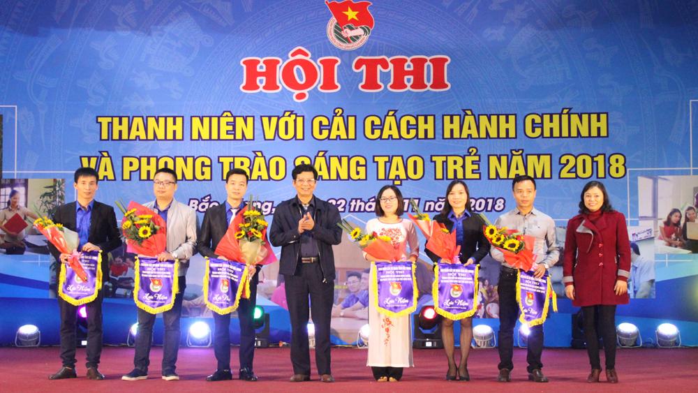 Hội thi Thanh niên Bắc Giang chung tay cải cách hành chính