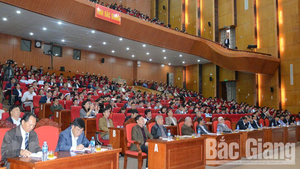 Bắc Giang: Hơn 62.000 cán bộ, đảng viên dự hội nghị học tập Nghị quyết Trung ương 8 (khóa XII)