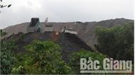 Công ty cổ phần Khai thác khoáng sản Bắc Giang: Xây dựng phương án khắc phục lỗi đổ thải sai quy định