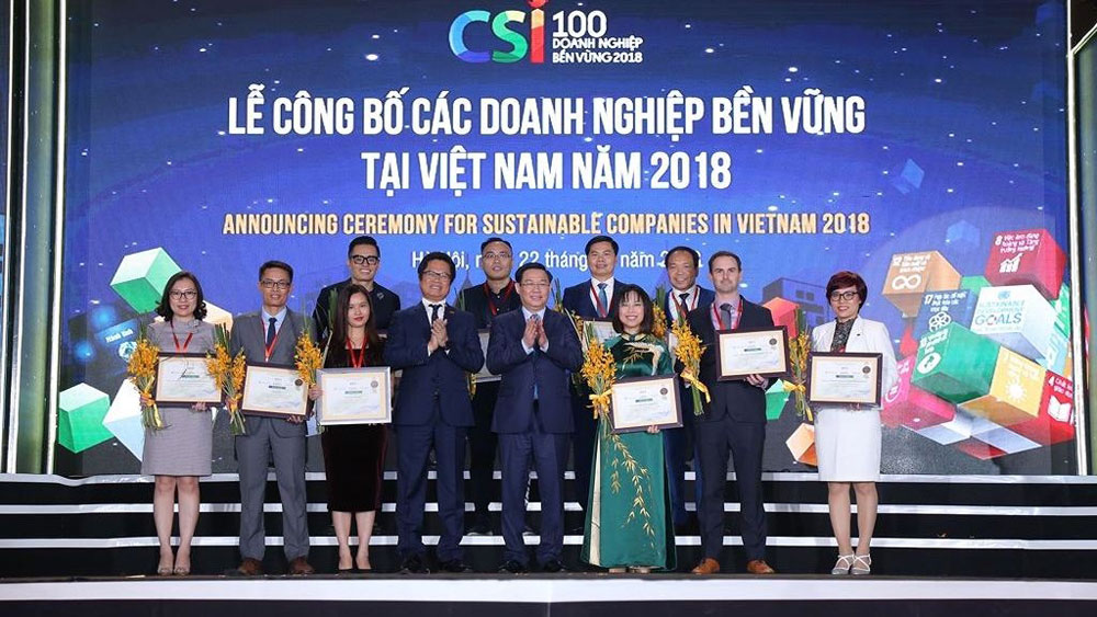 Top 100 sustainable companies in Vietnam honoured