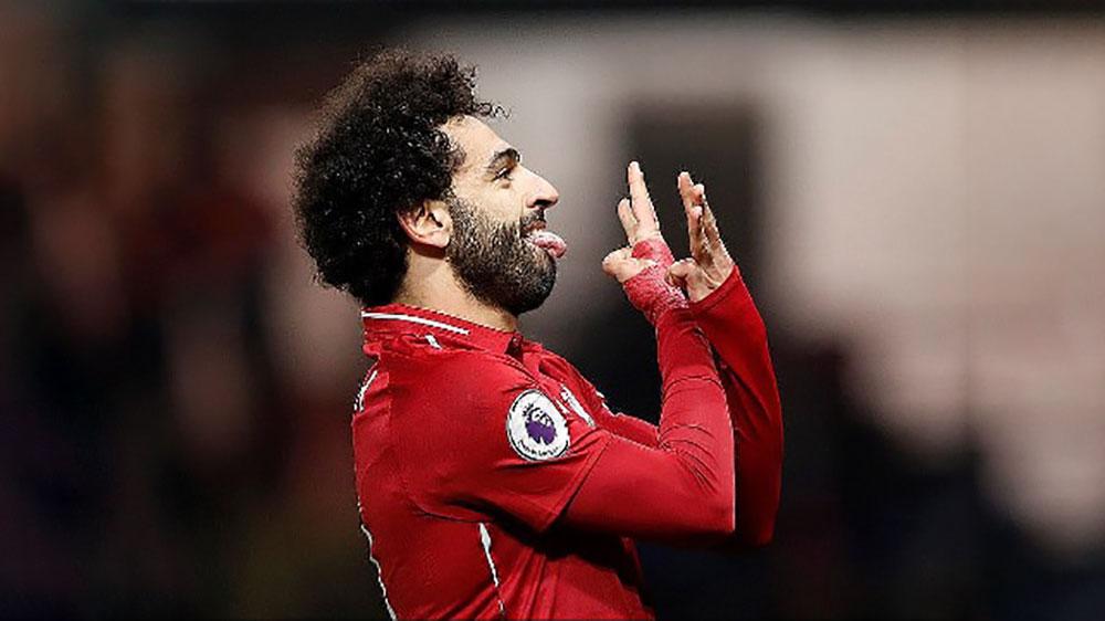 Salah giúp Liverpool thắng đậm 'ngựa ô' Watford