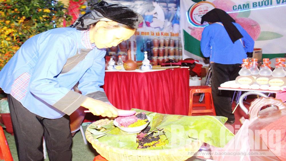 Hội chợ, cam, bưởi, hấp dẫn, đa dạng, Lục Ngạn, Bắc Giang