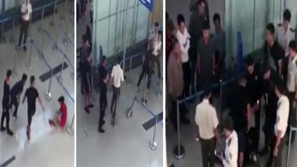 Rà soát, an ninh sân bay, vụ nữ nhân viên bị hành hung
