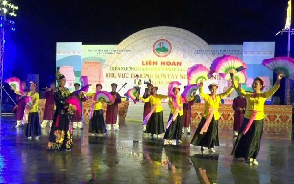 Various activities, Vietnam Heritage Day, distinctive cultural activities,  beauty and cultural values, Da Nang Museum, calligraphy exhibition, folk singing, folk games
