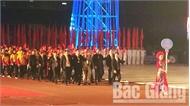 Khai mạc Đại hội Thể thao toàn quốc lần thứ VIII, năm 2018: Ấn tượng, đậm sắc màu truyền thống