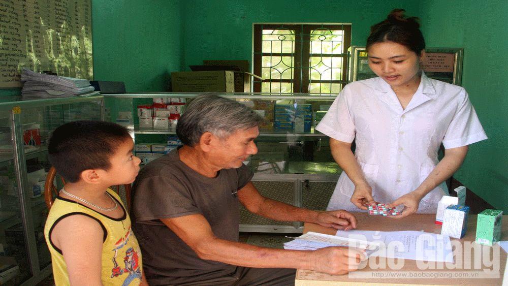 y tế cơ sở, khám, chữa bệnh, trạm y tế xã, y, bác sĩ, Bắc Giang,