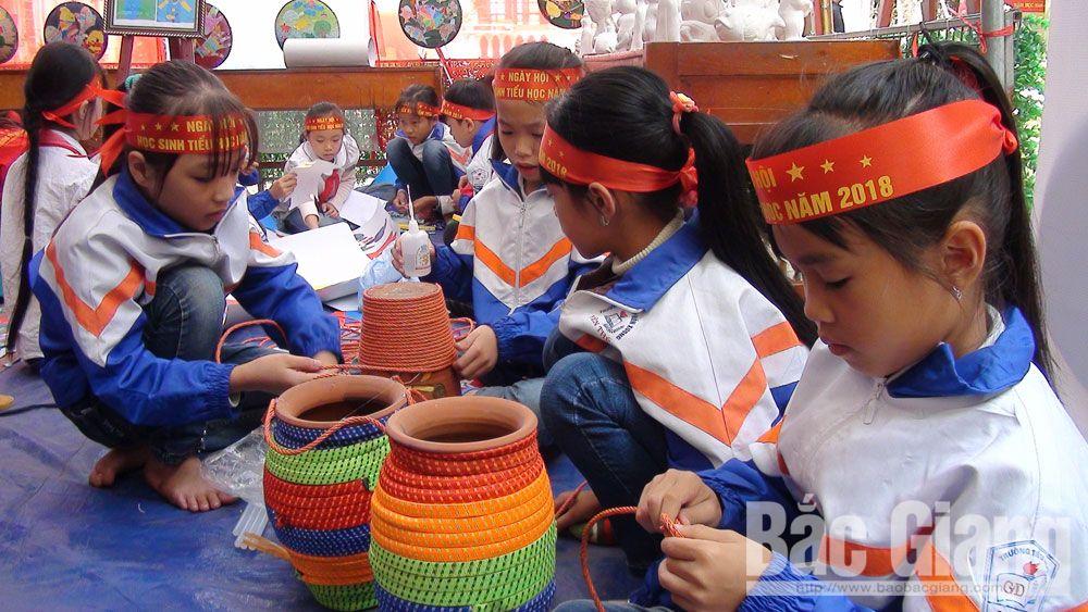 Bắc Giang, kỹ năng sống, Yên Thế, ngày hội, học sinh, tiểu học