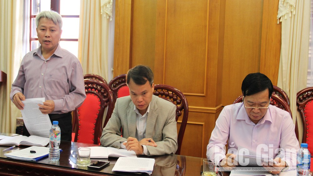 Ban Pháp chế thẩm tra các báo cáo trình kỳ họp thứ 6, HĐND tỉnh