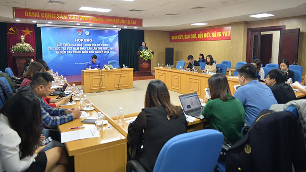 200 trí thức trẻ tham gia Diễn đàn trí thức trẻ Việt Nam toàn cầu lần thứ 1