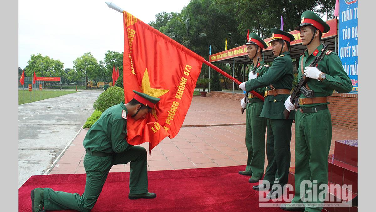 Chiến sĩ mới tuyên thệ
