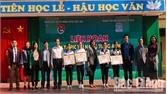 Trường THPT Hiệp Hòa số 4 giành giải Nhất Liên hoan Olympic tài năng tiếng Anh học sinh THPT