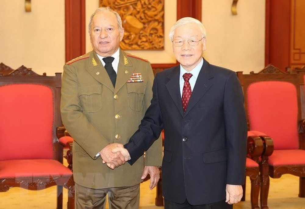 Party chief, defence ties, Cuba, General Secretary, President Nguyen Phu Trong, special friendship, socio-economic model, sixth and seventh Congresses, national independence