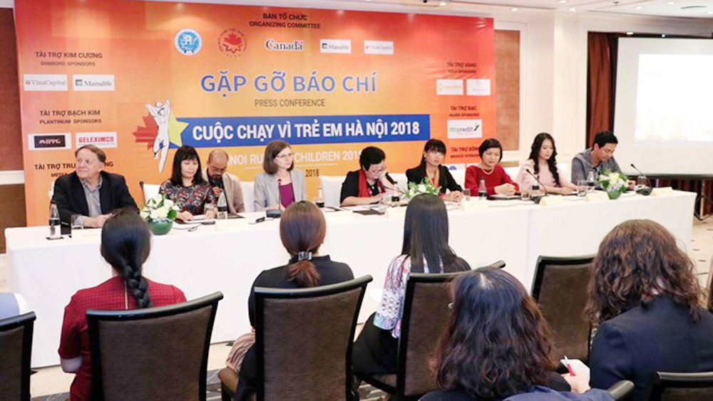 Hanoi Run for Children 2018 to be held in early December
