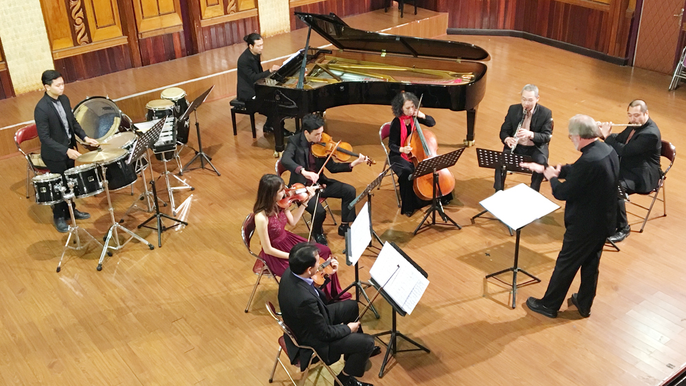 Concert provides a combination of contemporary and ancient music
