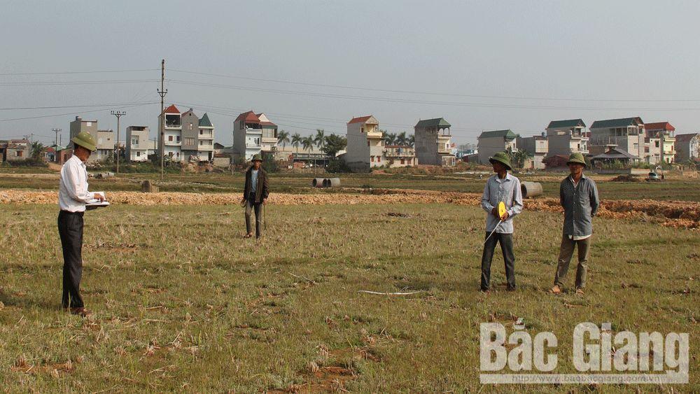 quản lý đất đai, đất công ích, Lạng Giang, Bắc Giang, Tuệ An, thuê đất, quyền sủ dụng đất, Luật Đất đai