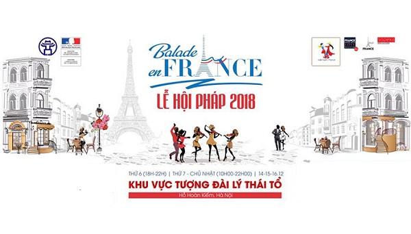 Lễ hội, Pháp, Hà Nội, Balade en France, Hồ Hoàn Kiếm