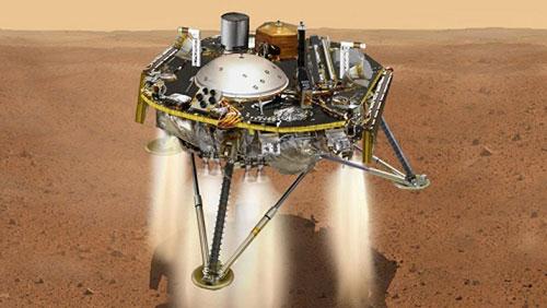 """Tàu NASA vượt qua """"7 phút kinh hoàng"""", đáp thành công xuống sao Hỏa"""