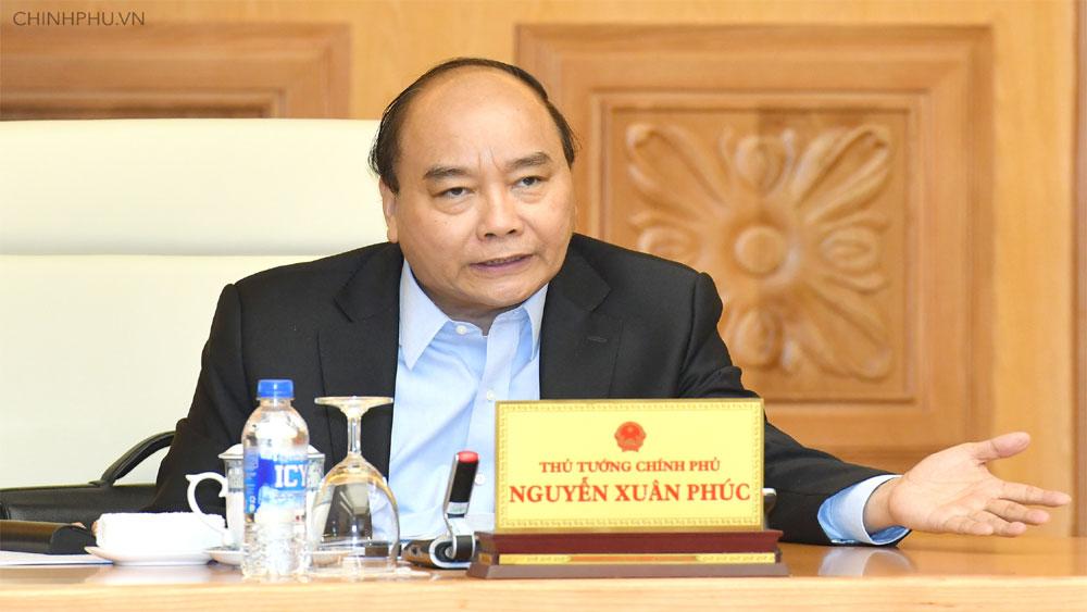 Thủ tướng Nguyễn Xuân Phúc chủ trì họp Thường trực Chính phủ về xây dựng Nghị quyết 01 năm 2019
