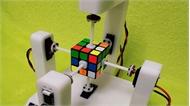 Robot phá kỷ lục xoay rubik 3x3 trong 0,337 giây