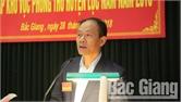 Diễn tập khu vực phòng thủ huyện Lục Nam