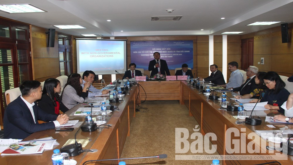 Bac Giang promotes cooperation with foreign NGOs