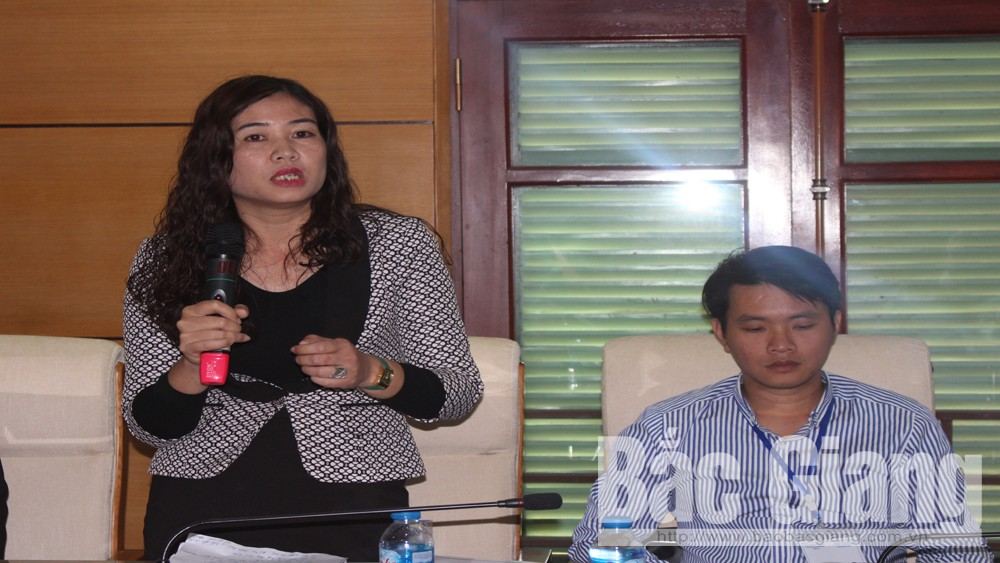 Bac Giang province, foreign NGOs, Department of Foreign Affairs, People's Aid Coordinating Committee,  roundtable discussion, security and socio-economic development, English teaching, medical development