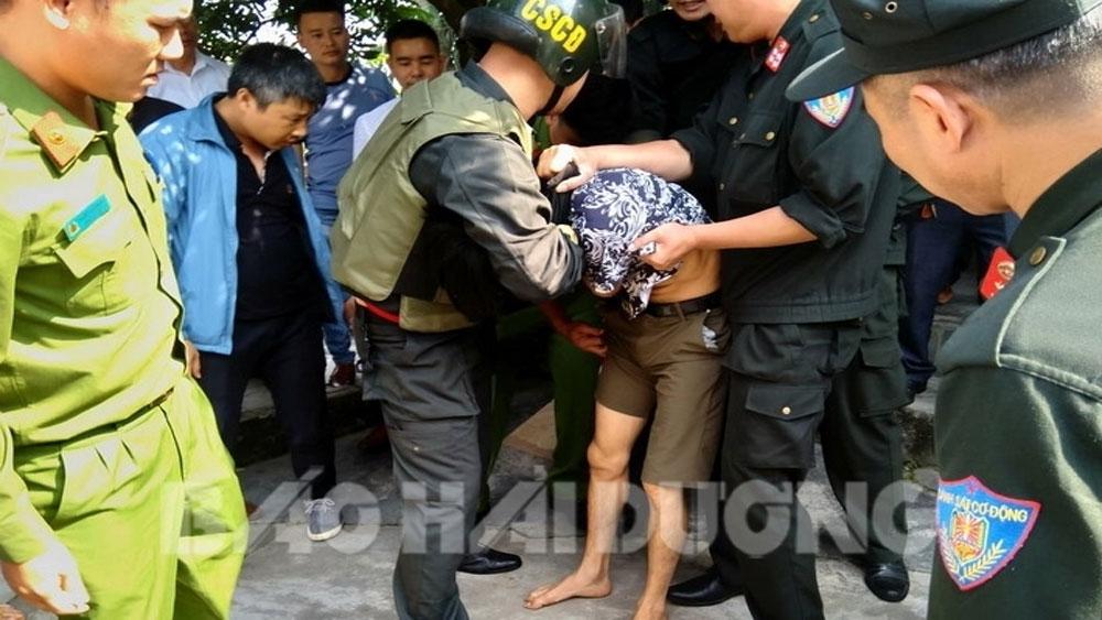 Giải cứu thành công cháu bé 3 tuổi bị đối tượng ngáo đá khống chế