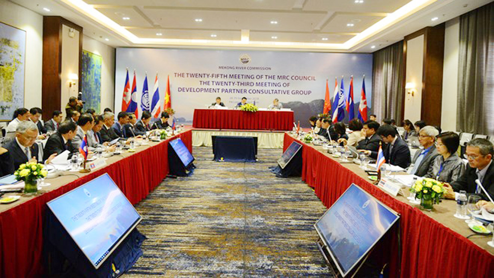 25th meeting of Mekong Council reviews work on river