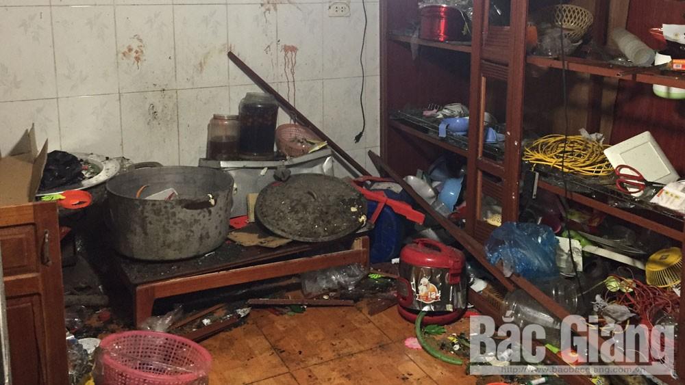 Huyện Tân Yên, một người tử vong sau vụ nổ