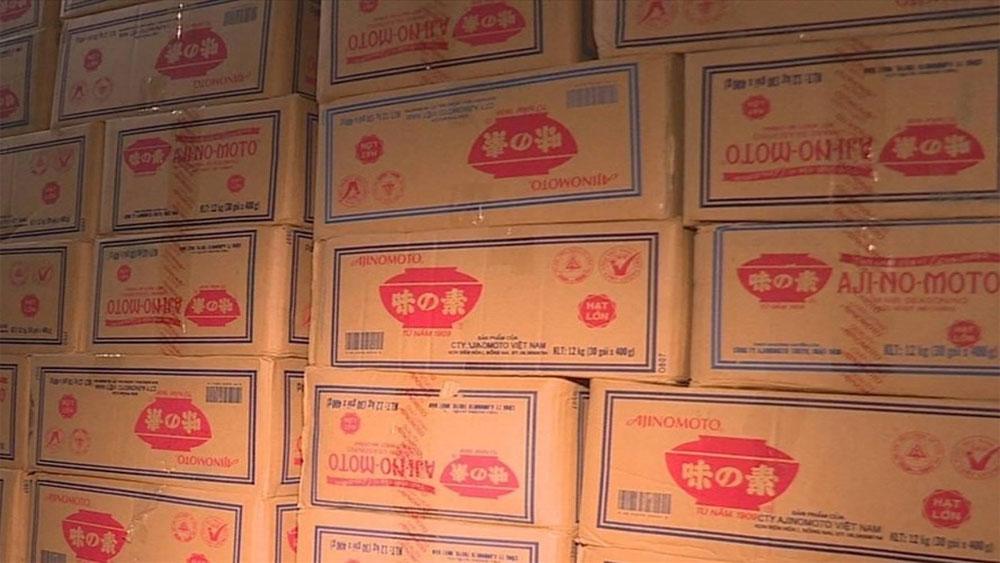 Giám định, xác nhận, 10 tấn hạt nêm Knorr,, bột ngọt, không nguồn gốc, hàng giả