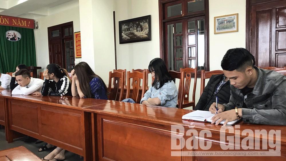 Karaoke Hoàng Gia, HUyện Lục Nam, Tỉnh Bắc Giang, Sử dụng ma túy trong quán Karaoke, ma túy