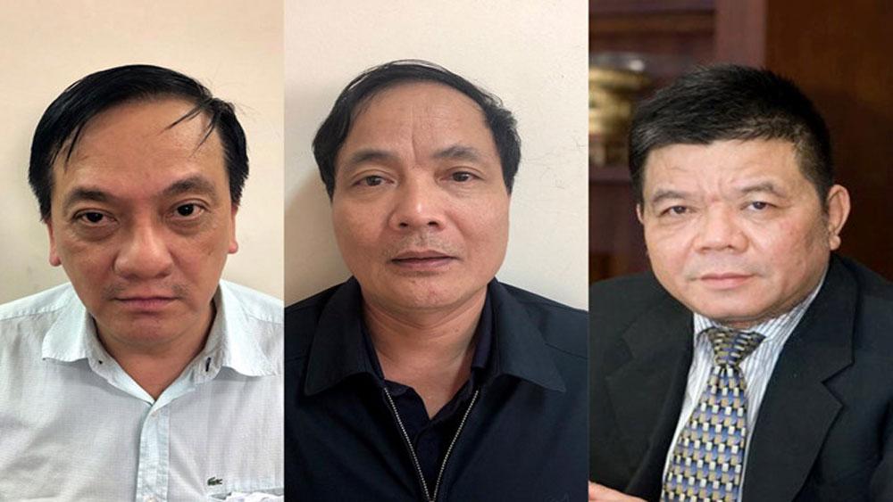 Tống đạt Quyết định khởi tố và thi hành Lệnh bắt ông Trần Bắc Hà và 3 nguyên lãnh đạo khác của BIDV