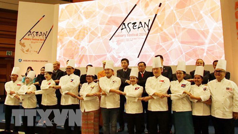 ASEAN Culinary Festival 2018, Vietnamese pho, nem ran, Vietnam's fried spring rolls, ASEAN-Korean Centre, Vietnamese foods