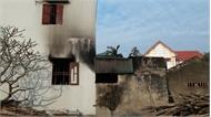 Thông tin về vụ hỏa hoạn ở thôn Lò, xã Tân Mỹ: Ba nạn nhân bị thương rất nặng, đang điều trị ở Viện Bỏng quốc gia