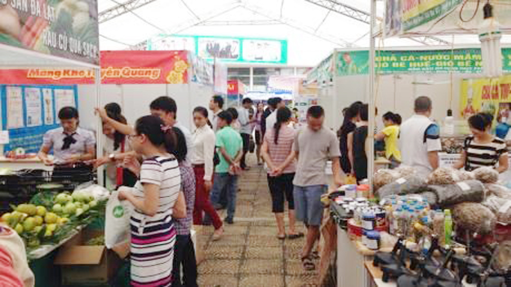 Red River Delta Industry & Trade Fair opens in Vinh Phuc