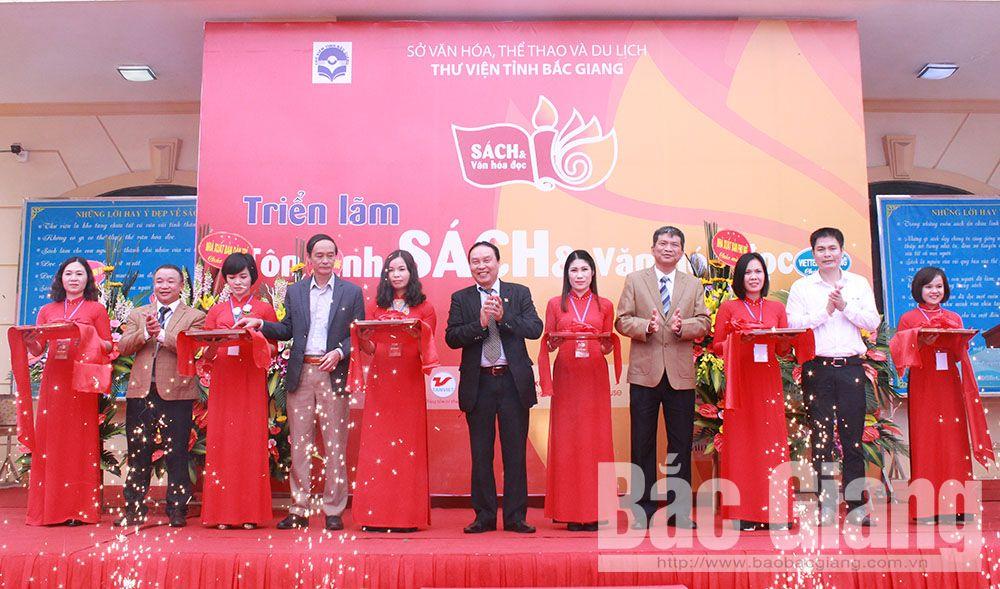 Thư viện tỉnh Bắc Giang, triển lãm sách, Triển lãm tôn vinh sách và văn hóa đọc