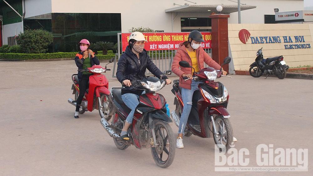 Tân Yên, doanh nghiệp, an toàn giao thông