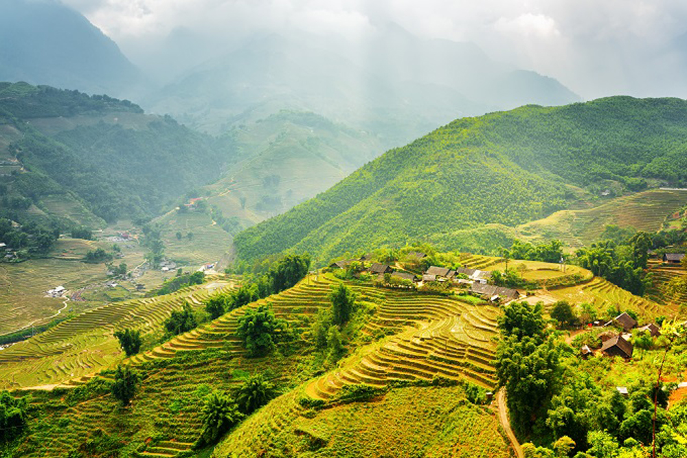 National Geographic, Vietnam mountain range, world's best destinations, best travel spots, Hoang Lien Son mountain range, cable car system, highest peak, homestay accommodation