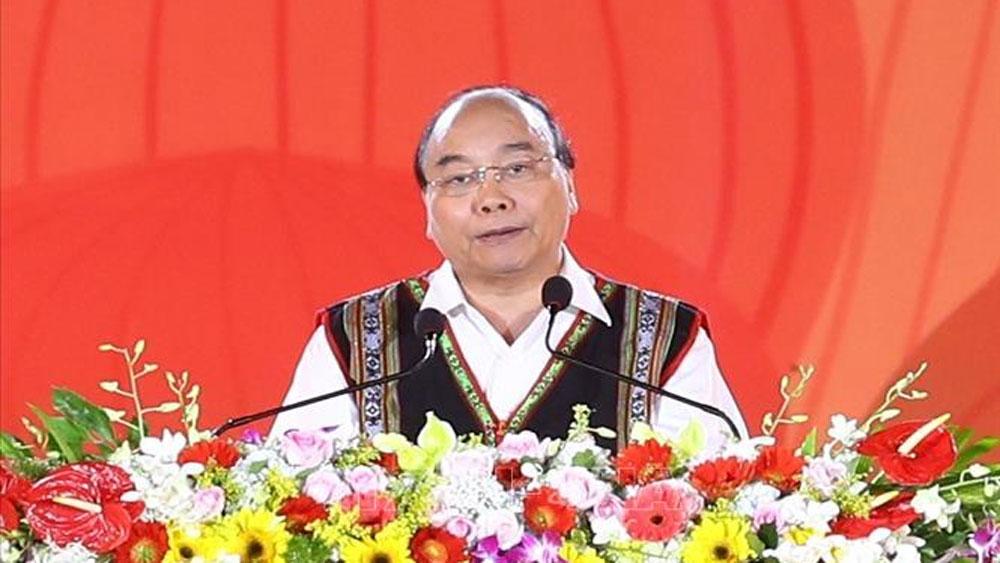 Thủ tướng Nguyễn Xuân Phúc, Festival văn hóa Cồng chiêng, Tây Nguyên
