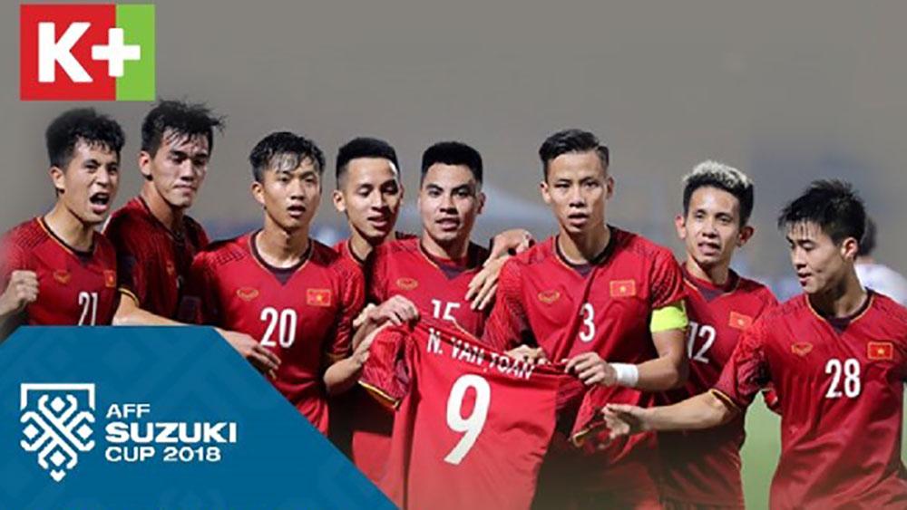 AFF Cup 2018: K+ được cấp quyền sản xuất và bình luận trực tiếp