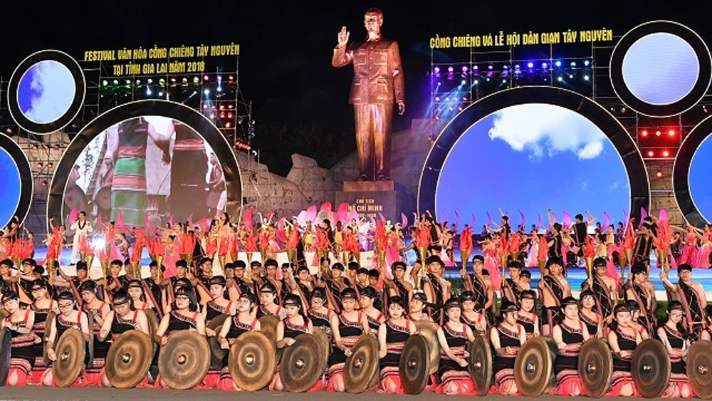 Festival fuels vitality of Central Highlands gong culture