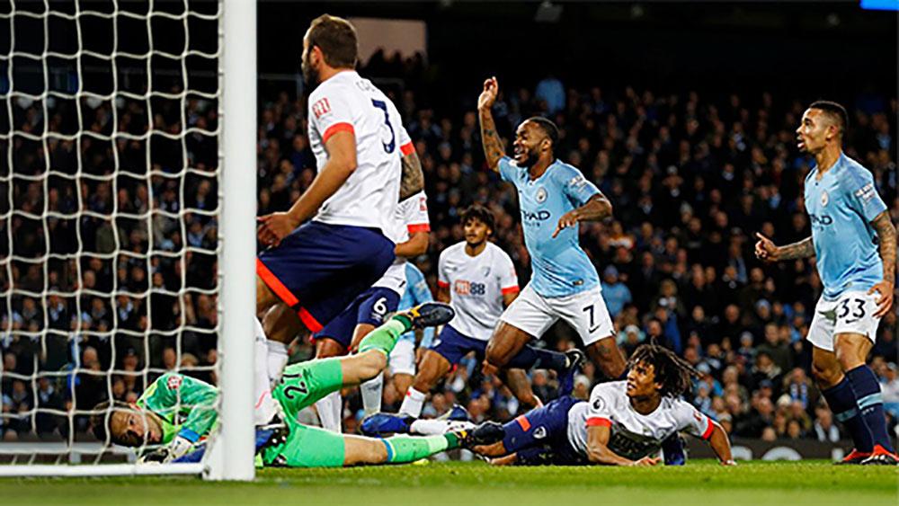 Man City thắng trận thứ 6 liên tiếp tại Ngoại hạng Anh