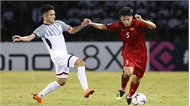 Bán kết AFF Cup 2018 lượt đi Việt Nam-Philippines (hiệp 1): Philippines san bằng tỷ số  1-1 ở phút bù giờ