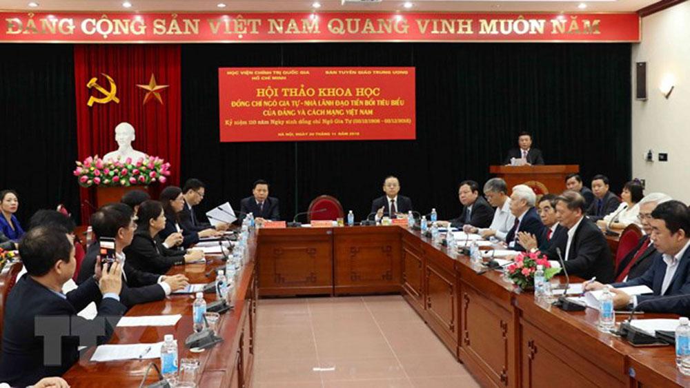 Ngô Gia Tự-nhà lãnh đạo tiền bối của Đảng và cách mạng Việt Nam