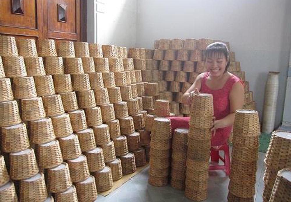 handicraft village, Tra Vinh province, ethnic Khmer, sedge mat weaving, Dai An, Ham Giang, Ham Tan, Vietnam