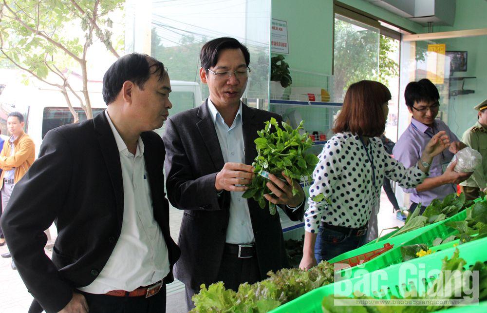 Kiểm tra an toàn thực phẩm tại TP Bắc Giang.