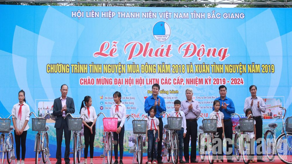 Volunteering programme launched in Bac Giang