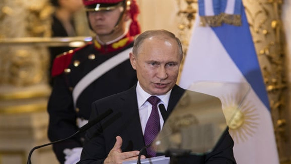 Tổng thống Putin tuyên bố không thả người, 24 thủy thủ Ukraina đối mặt với bản án 6 năm tù