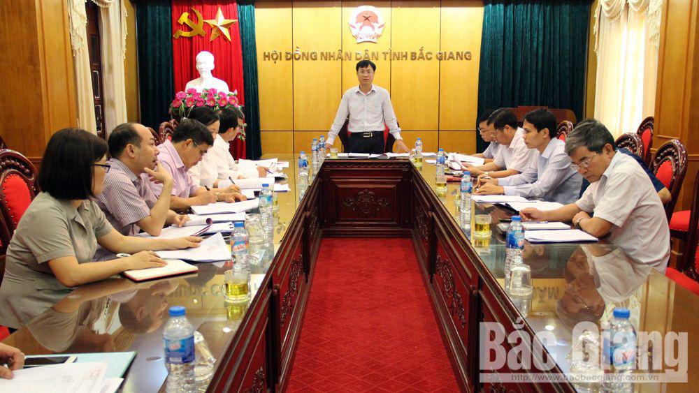 Kỳ họp thứ 6, HĐND tỉnh, Bắc Giang, Trung tâm hội nghị tỉnh